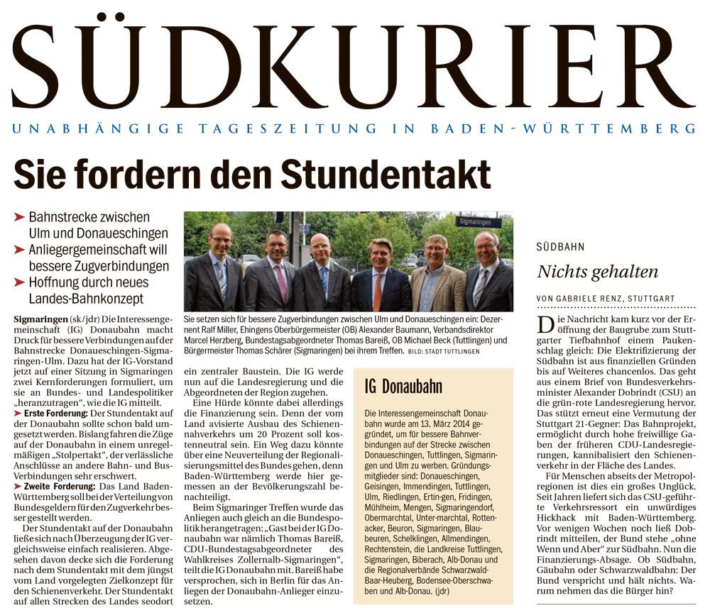 Suedkurier_2014-08-05_IC-Schwarzwaldbahn