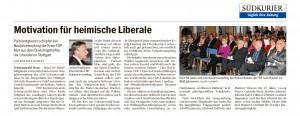 Bericht zum Neujahrsempfang des FDP-Kreisverbandes vom Südkurier