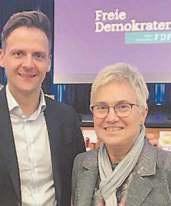 Marcel Klinge und Andrea Kanold