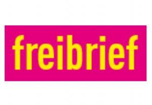Logo freibrief - genau hinschauen